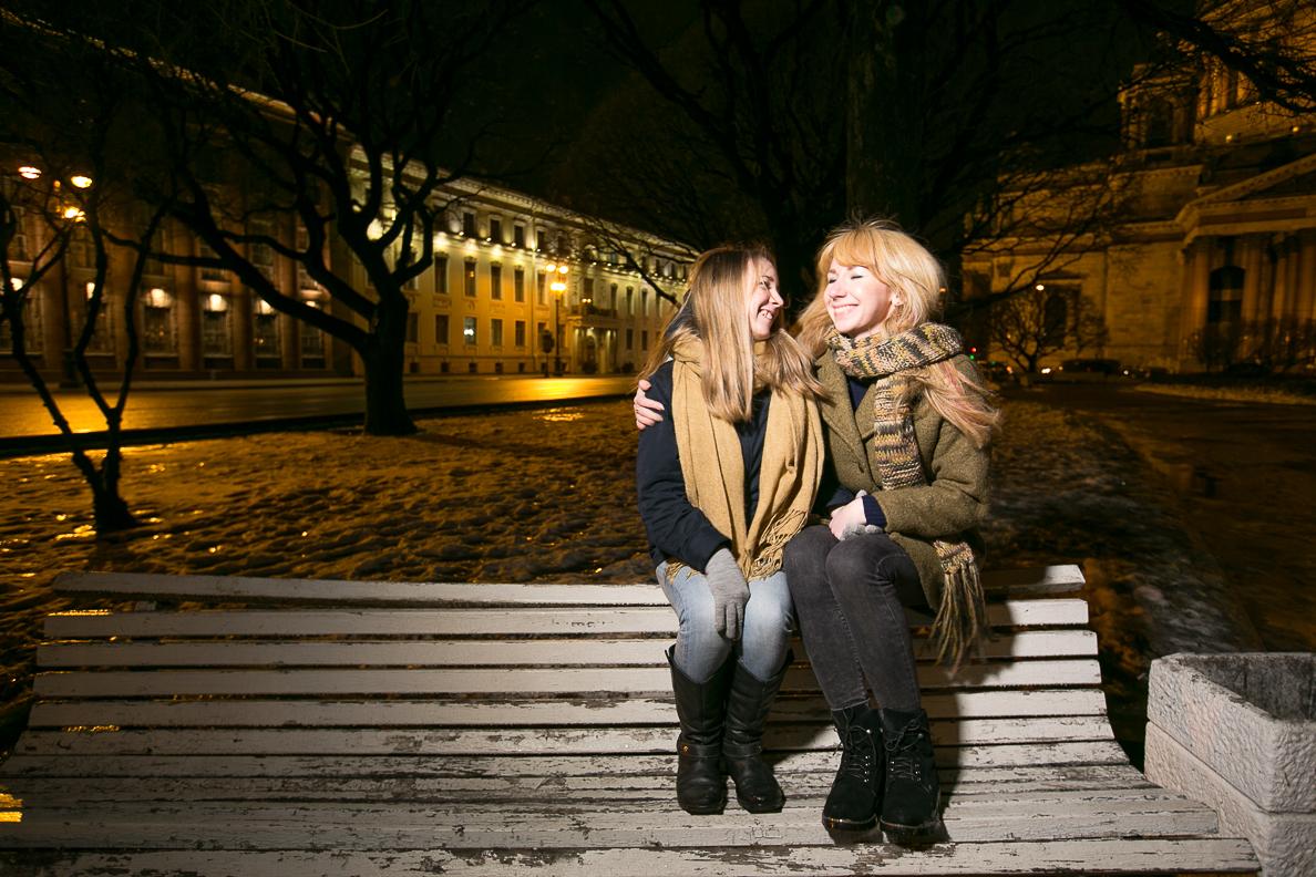 Алина и Марина